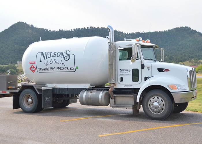 Nelson's Oil & Gas, Inc Hot springs Truck